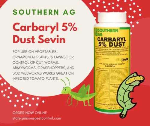 Carbaryl 5% Dust Sevin by Southern Ag (16 oz)